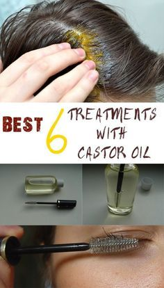 BEST 6 TREATMENTS WITH CASTOR OIL | Natural Beauty: