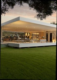 Modern house design - The Most Minimalist House Ever Designed The Glass Pavilion modern home design dream home design architecture Pavilion Architecture, Amazing Architecture, Interior Architecture, Mobile Architecture, Modern Interior, Modern Architecture House, Building Architecture, Residential Architecture, Luxury Houses