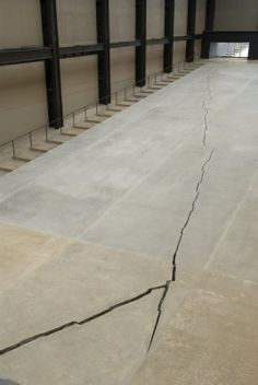 Doris Salcedo's Shibboleth, The Unilever Series, Tate Modern, London