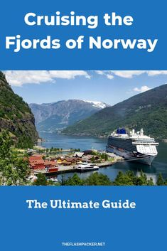 A Norwegian fjords cruise is a trip of a lifetime. Here's a candid and complete  review of a cruise on P&O's Britannia and essential tips for booking this experience. #norway #fjords #cruise #travelhacks #traveltips #europe #travel #travelblogger #solotra