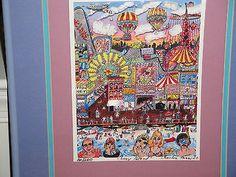 Fazzino's Coney Island Stereograph Coney Island, Medium Art, Mixed Media Art, Collage Art, 3 D, Ebay, Mixed Media