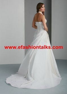 Style 50030 » Wedding Gowns » DaVinci Bridal » Available Colours : Ivory, White (back)