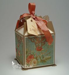 Tracy's treasure box - with instructions.