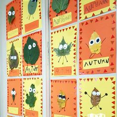 I love being an art teacher. This is our Fall bulletin board. I do this every year. Cute and simple. It gives me time to teach procedures.  note that the kids were not able to find brown leaves...