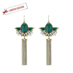ON SALE NOW!! Scarab Statement Earrings. Limited Edition so order today at www.chloeandisabel.com/boutique/lisab. Exquisite color and detail. #Holidays #Jewelry #Love