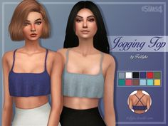 Jogging Set at Trillyke via Sims 4 Updates