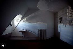 """""""Stenop.es: A Pinhole Movie Project"""" by Antoine Levi and Romain Alary coalesces the seclusion of a private room with the impersonal nature of the outside world.  complex.com #Photography #Camera_Obscura"""