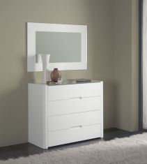 Commode moderne : Collection MIRIAM Blanc