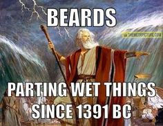 The power of beards…