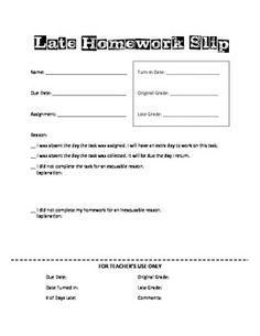 Homework policy secondary school