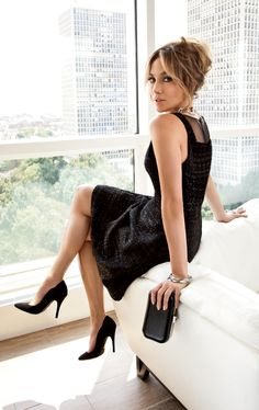You can't go wrong in a vintage- style black dress. #JenniferLopez #newarrivals #Kohls