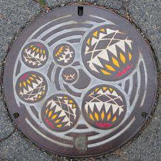The Art of the Japanese Manhole ~ Kuriositas