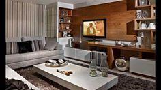 Salas Modernas com Papel de Parede! Veja Dicas e Modelos!