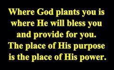 God's place