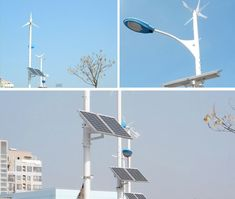 street lights powered by solar and wind energy are an emerging trend in china