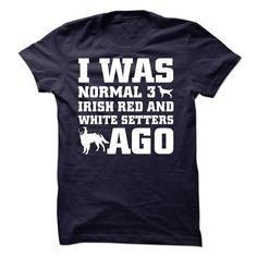 Irish Red and White Setters T Shirt, Hoodie, Sweatshirt