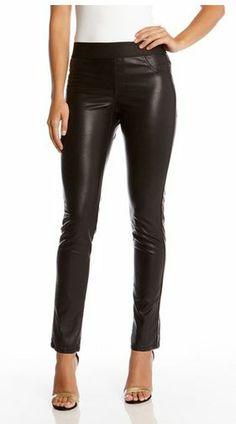 Karen Kane Faux Leather Super Stretch Pants