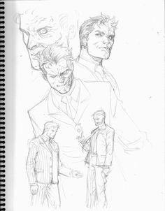 Two Face sketches by *0boywonder0 on deviantART