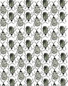 Bugs. #pattern #illustration