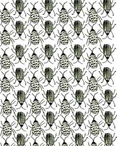 Bugs. #pattern #illustration