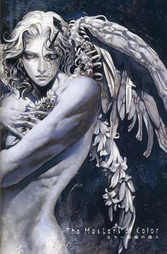 """Angel of death"" of Ayami Kojima / Different image than for Unbreakable"