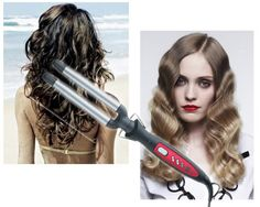 I Just Discovered This While Ping On Poshmark Revlon 3 Barrel Hair Crimper Iron Check It Out Size Os Pinterest And