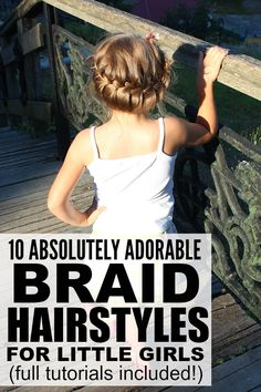 Sick of sending your kids to school with the same old pigtails and ponytails every morning? But thanks to these 10 cute and easy hairstyles for kids, our daughters can now be the most stylish kids in class! Easy Hairstyles For Kids, Top Hairstyles, Kids Braided Hairstyles, Little Girl Hairstyles, Pretty Hairstyles, School Hairstyles, Hairstyle Ideas, Female Hairstyles, Wedding Hairstyles