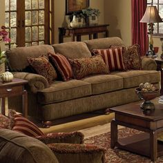 estampas clássicas de almofadas para sofá marrom