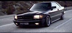 Hommage an einen großen Wagen: Mercedes 560 SEC AMG im Video: Filmisches Portät…