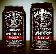 jack + coke in a can. perfect for football season