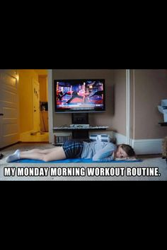Mondays work out routine