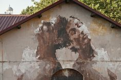 Borondo New Mural In Roma, Italy StreetArtNews