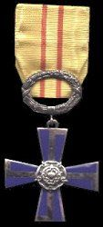 Finland: Order of the Cross of Liberty. 4th CLASS. Instituted: 4 March 1918.