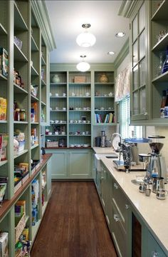 Best ideas about Walk In Pantry Ideas . Save or Pin 10 Kitchen Pantry Design Ideas — Now. Walk In Pantry Ideas . top 20 Walk In Pantry Ideas . 25 Great Pantry Design Ideas for Your Home Pantry Room, Pantry Storage, Walk In Pantry, Kitchen Storage, Pantry Organization, Open Pantry, Organizing Ideas, Organized Pantry, Hidden Pantry