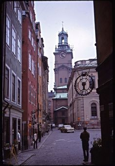 Beautiful Stockholm in the 1960s Through an American Traveler's Lens