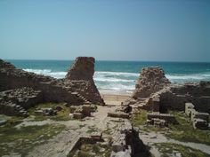 Ashdod Yam (Ashdod-sea) - ancient beach fortress in Ashdod, Israel. My friends and I used to come here a lot