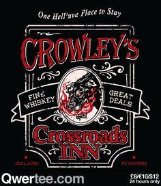 Supernatural Crowley's (: favorite demon