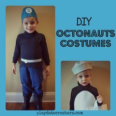 Octonauts Costumes! Captain Barnacles and Peso Penguin
