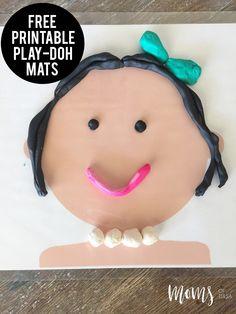 Play-Doh Mats - http://momsoftulsa.com/play-doh-mats/
