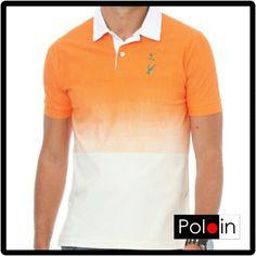 Polo degradê com elastano Polo In #poloin #poloin_br #poloinbr