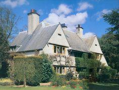 The Orchard. Shire Lane, Chorleywood, Hertfordshire. 1899 House for C.F.A. Voysey and Mary Maria Voysey. Voysey left the Orchard in 1906 The Orchard at Chorleywood, Hertfordshire