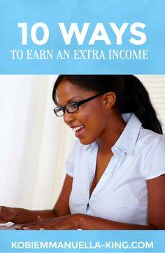 Check out these 10 ways to earn extra income: http://www.doughroller.net/earn-extra-income/multiple-streams-income-move-closer-financial-freedom/