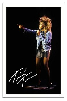TINA TURNER SIGNED PHOTO PRINT AUTOGRAPH SIMPLY THE BEST | Collectables, Autographs, Pre-Printed Autographs | eBay!