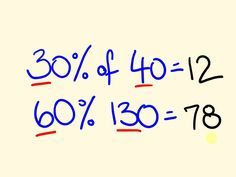 Percentage Trick Solve precentages mentally percentages made easy with the c is part of Cool math tricks - Percentage Trick Solve precentages mentally percentages made easy with the c Easy mentally Percentage percentages precentages Math For Kids, Fun Math, Math Activities, Easy Math, Math Made Easy, Simple Math, Math Class, Cool Math Tricks, Maths Tricks