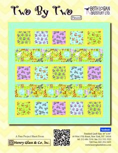 Two by Two- Pieced Pattern by