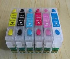 $13 Empty Refillable cartridge For Epson Artisan 600 700 710 725 800 810 835 T0981 6-in Ink Cartridges from Computer & Office on Aliexpress.com | Alibaba Group