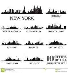 dubai skyline vector - Pesquisa Google