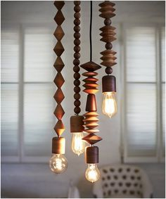 Bright Beads Pendant Lights will certainly brighten up your space