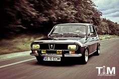 Dacia 1300 aka R12 Gordini Black Beauty phareallum