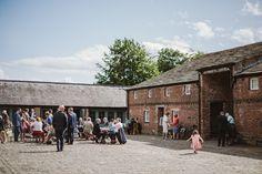 Barn Wedding Venue. Meols Hall wedding venue, Southport Lancashire.  © Emilie May Photography